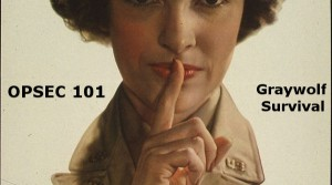 OPSEC 101 for Preppers
