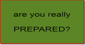 Preppers are you prepared