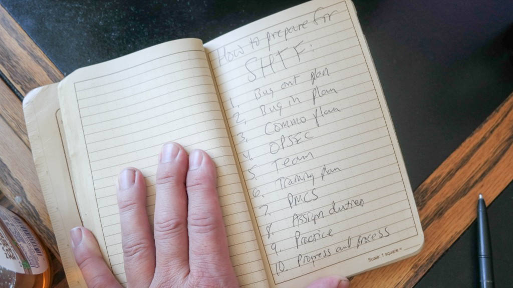 10 steps how to prepare for SHTF