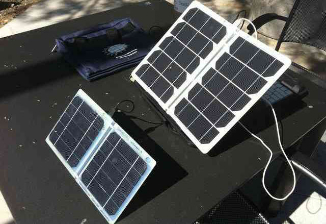 scharger-5 solar charger review