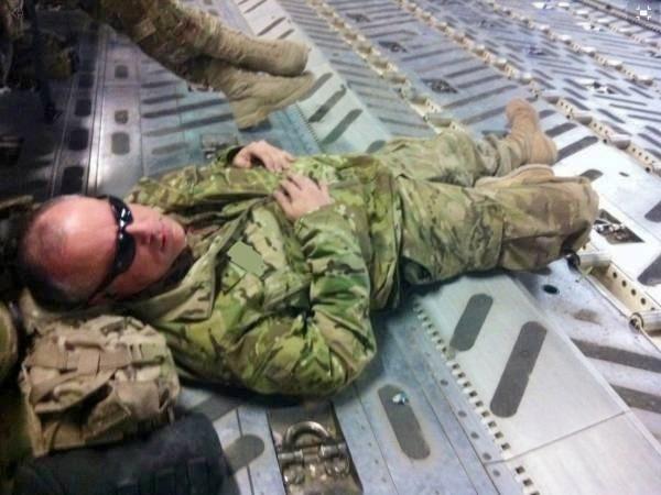 I'm out! Bye bye Afghanistan