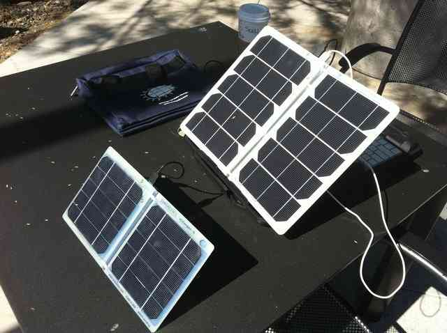 Portable solar panel review: scharger-12