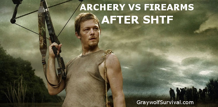 Archery vs firearms for SHTF weapons