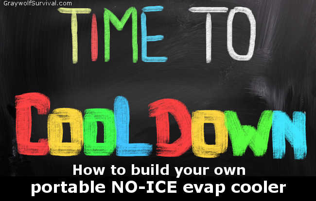 time to cool down how to build a diy portable evap swamp cooler