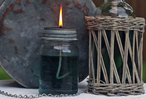 How to make a simple DIY oil lamp
