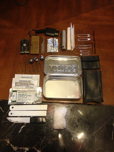Graywolf Survival's Altoid EDC tin