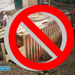 Don't even consider burying a shipping container as an underground bunker until you read this