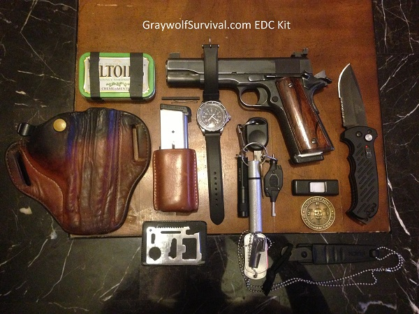So what do you really need to carry every day? How do you figure out what should go on your EDC gear list? Here's what Graywolf from Graywolf Survival carries and why, as well as some suggestions on how to plan your EDC kit. - Graywolf Survival's EDC kit http://graywolfsurvival.com/2551/what-should-you-have-in-your-everyday-carry-edc-gear/