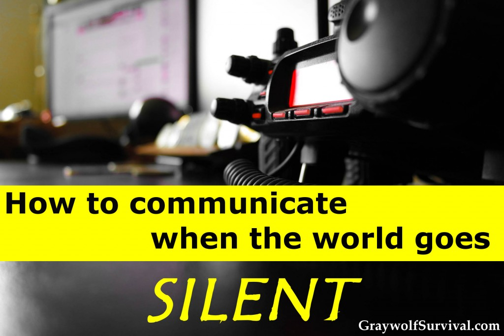 How to communicate when the world goes silent - ham radio emergency communication