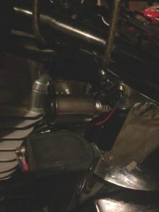 Desert warrior harley motorcycle 12v