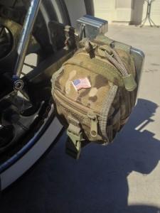 Desert warrior harley motorcycle document pouch