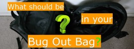 what should be on your bug out bag list
