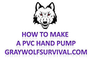 How to make a hand pump out of PVC