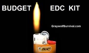 Budget EDC kit