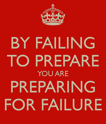What are you prepping for?