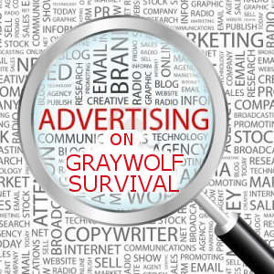 Advertising on Graywolf Survival