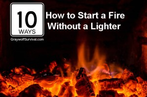 10 ways how to start a fire without a lighter