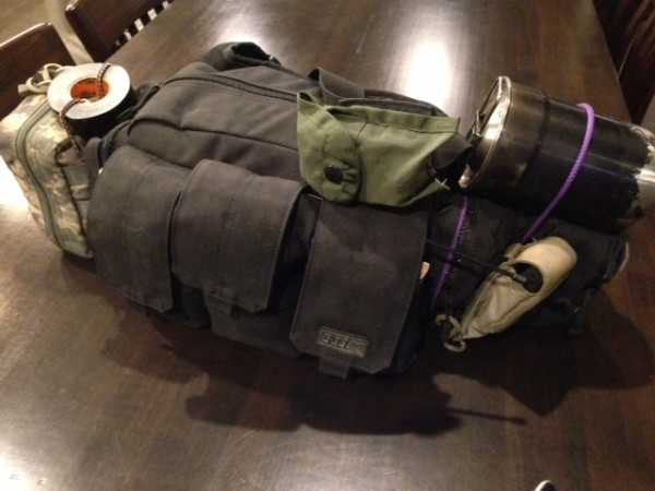 My personal go bag contents