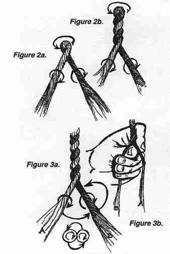 how to make cordage from primitive materials
