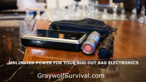 unlimited bug out bag power
