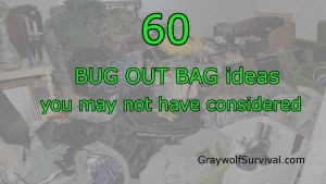 60 bug out bag items you may not have thought of - 600