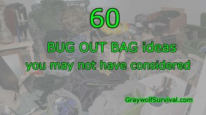 60 bug out bag items you may not have thought of - http://bit.ly/1rSh7Bc