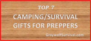 Best prepper camping survival gifts