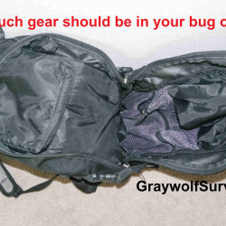 How much should your bug out bag weigh?