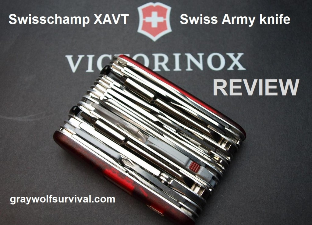 Victorinox Swisschamp XAVT Swiss Army knife review