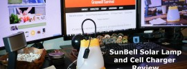 sunbell lamp and charger review featured image
