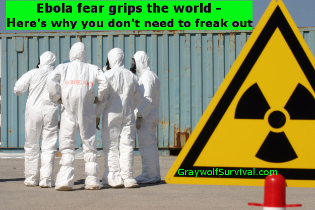 Ebola fear grips the world – here's why you don't need to freak out