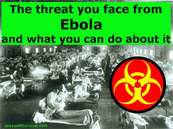 The world news is on fire with reports of infections and death from the Ebola virus, and victims are being brought to the US. What do you need to know? - http://graywolfsurvival.com/3705/ebola-pandemic-threat-preparation/