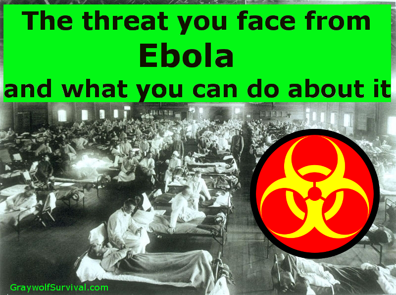 The threat you face from Ebola and what you can do about it (Updated)