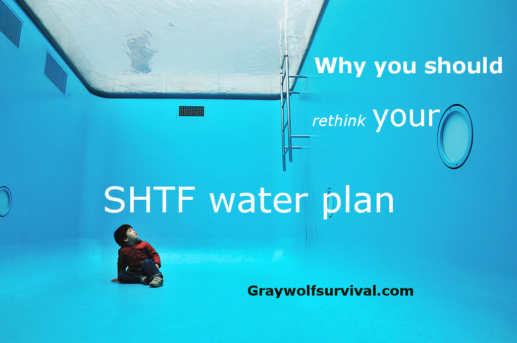 Why you need to rethink your SHTF water plan