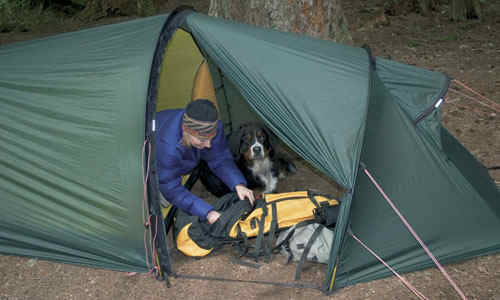 Ultralight backpacking tents for your backpack or bug out bag - the Hilleberg Nallo 2 http://graywolfsurvival.com/?p=3657