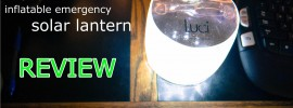 Mpowered Luci inflatable solar emergency lantern review
