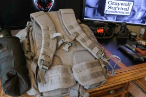 511 rush 72 tactical backpack shoulder and hip straps