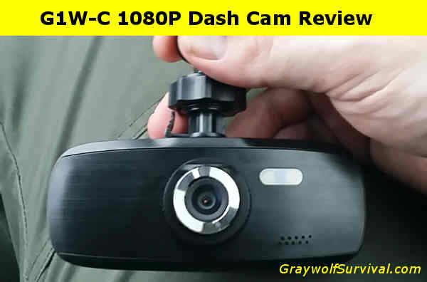 Your own vehicle surveillance camera – the G1W-C 1080P