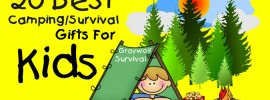 20 best camping survival gift ideas for kids