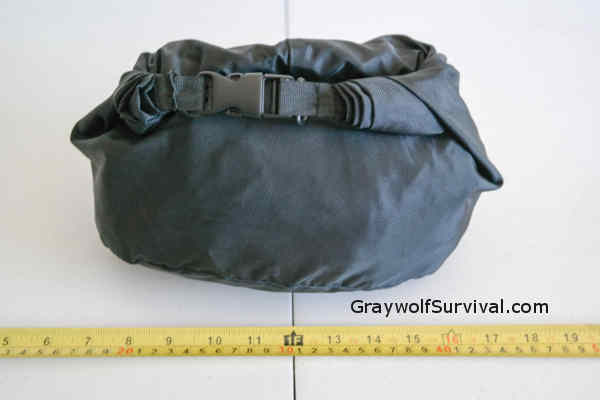Clothing Inside Dry Sack