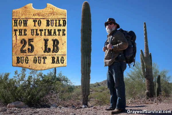 Here's how I built my ultimate bug out bag, with a list of what I carry in it and why. Under 25 pounds dry weight and has everything I need.. Sign image original design by http://32cherry.deviantart.com/
