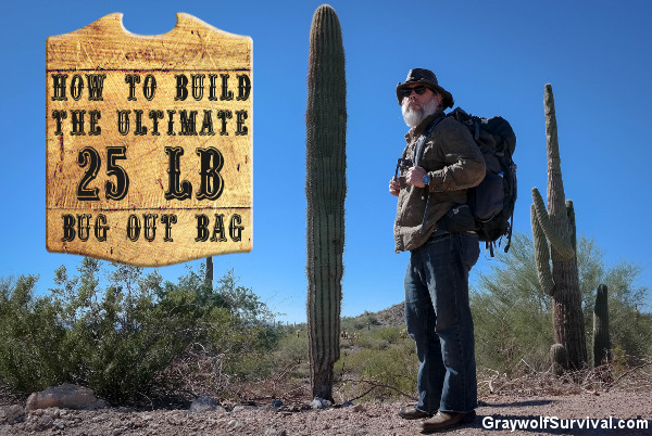Graywolf Survival Bug Out Bag Desert Cactus