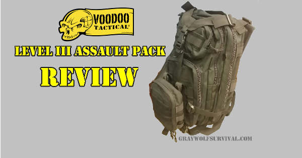Voodoo Tactical Lvl III Assault Pack Review
