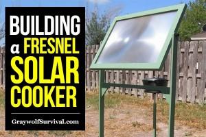 fresnel solar cooker