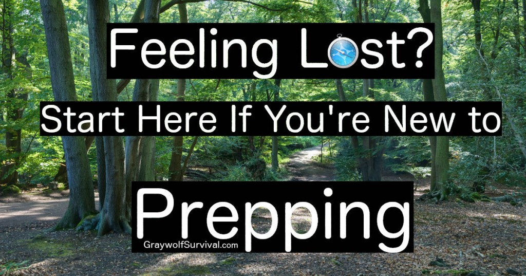 Feeling Lost? Start Here if You're New to Prepping