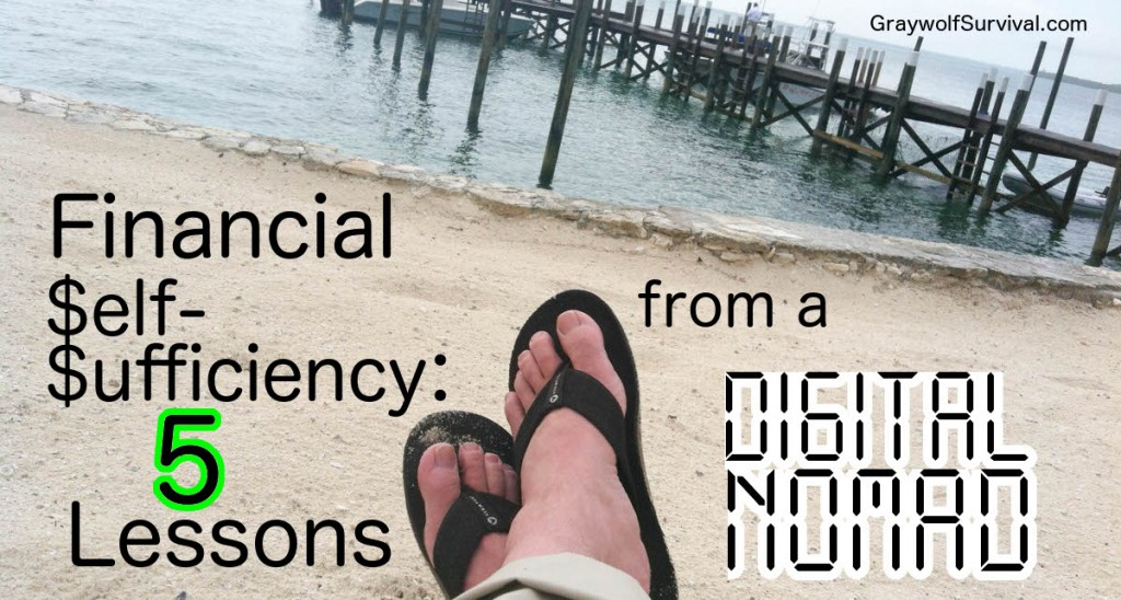 Financial Self-Sufficiency - 5 lessons from a digital nomad