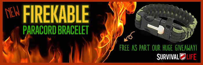 Adapt or die: Why you need more skills and less stuff Free-paracord-bracelet-firekable
