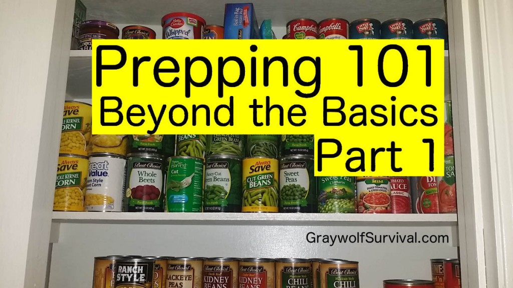 prepping101 beyond the basics