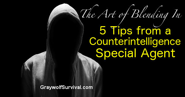 The Art of Blending in: 5 Tips from a Counterintelligence Special Agent