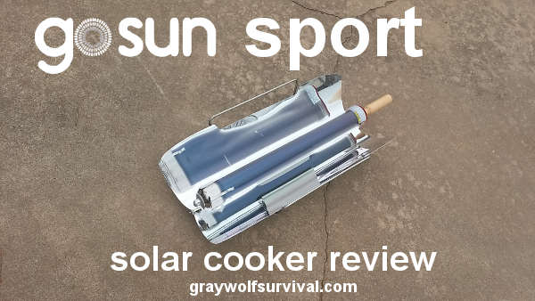 GoSun Sport Solar Stove Cooker Review